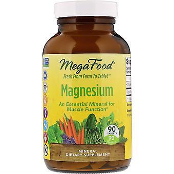 MegaFood, Magnesium, 90 Tablets