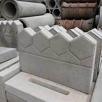 Garden Diy Decor Pave Making Plastic Reusable Antique Cement Brick Mold