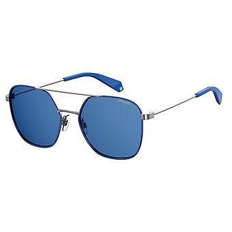 نظارات شمسية 6058/Spjp/C3 فضي/أزرق