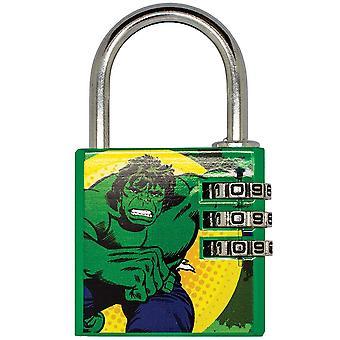 Marvel Comics Hulk Brass Padlock