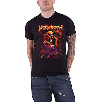 Megadeth T Shirt Peace Sells Band Logo new Official Mens Black