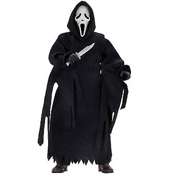 """Scream Ghostface 8"""" Clothed Action Figure"""