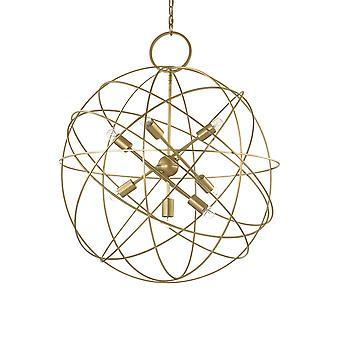 ideell lux konse - 7 lys sfærisk tak anheng gull