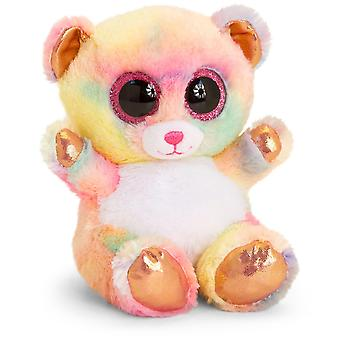Keel Toys Animotsu Rainbow Rose Gold Bear