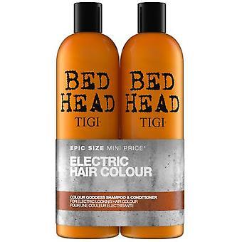 Sängyn pään väri jumalatar väri torjumiseksi brunette shampoo