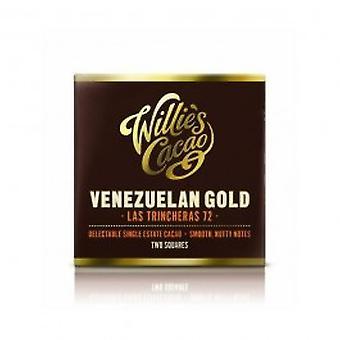 Willies - Venezuelan Las Chincheras Dark 72% Chocolate