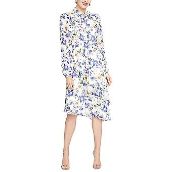 RACHEL Rachel Roy | Sheer Floral Print Midi Dress