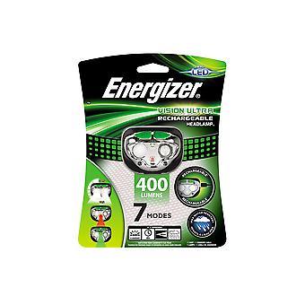 Energizer Vision LED USB Oplaadbare Koplamp met 400 Lumens