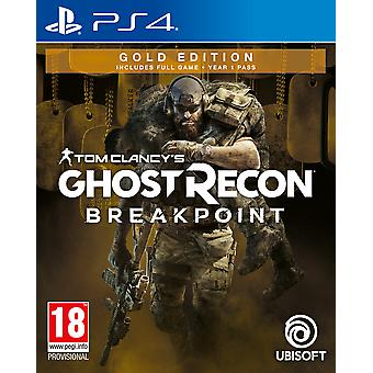 Tom Clancy's Ghost Recon Breakpoint Gold Edition PS4 -peli