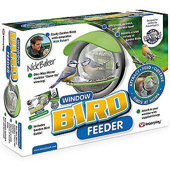 My Living World Window Mounted Bird Feeder Toy