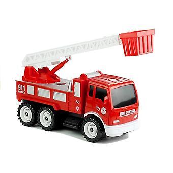 Brandman leksaksset med brandbil - 14-bit