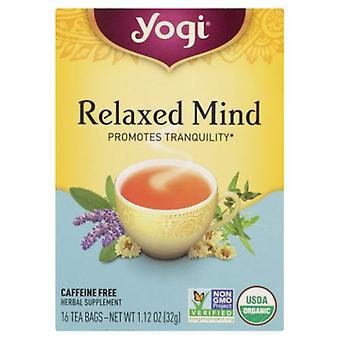 Yogi Tea- Relaxed Mind, NA, 16 bags