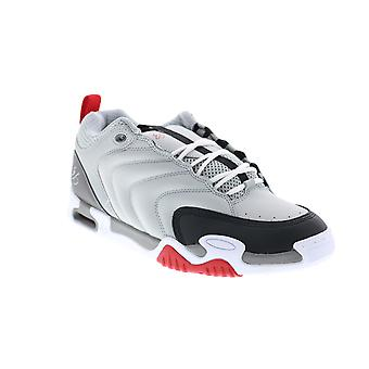 ES Tribo  Mens Gray Leather Skate Inspired Sneakers Shoes