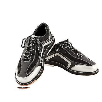 Zapatos de bolos, zapatillas anti-skid Outsole, zapatos deportivos de cuero