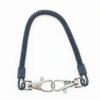 Fishing Lanyard Tether, Net Release, Holder Quick Cord Clip Pliers, Lip Grips
