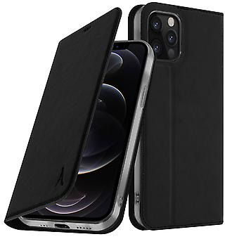 Case for the Apple iPhone 12 Pro Max Akashi Card and video Holder black