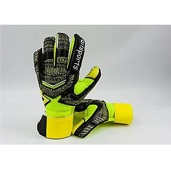 Professional Goalkeeper Gloves Latex Finger Protection For Adults Football