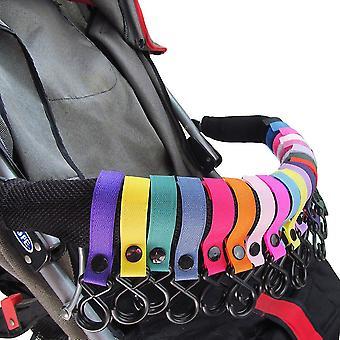 5pcs Multi Purpose Baby Kinderwagen Kinderwagen Kinderwagen Shopping Bag Handtas Haak Clip
