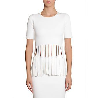 Alexander Wang 119075s17yn1723106 Women's White Cotton T-shirt