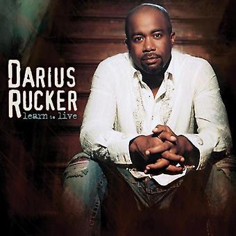 Darius Rucker - lära sig Live [CD] USA import