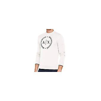ARMANI EXCHANGE Polyester White Sweatshirt