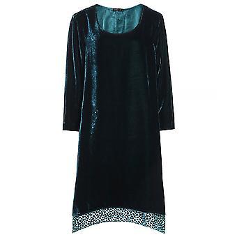 Grizas Velvet Spot Hem Dress