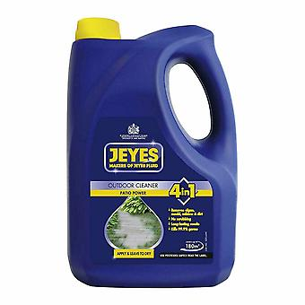 Jeyes Patio Outdoor Cleaning Powder 4 in 1, Blue, 4 Liter, 1pk