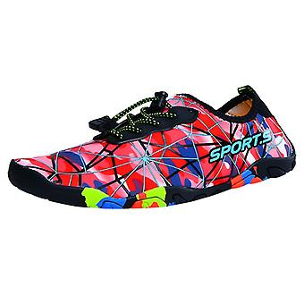 Men / Women Beach Snorkeling Breathable Shoes- Swimming Shoes Light Printing