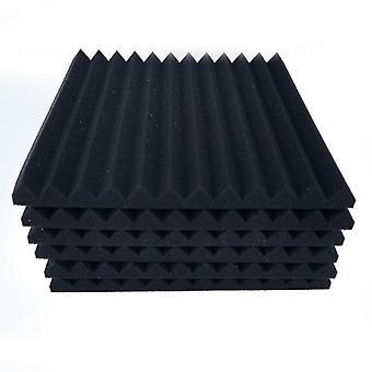 6/12pcs Soundproofing Sponge Cotton Indoor Acoustic- Insulation Foam Noise