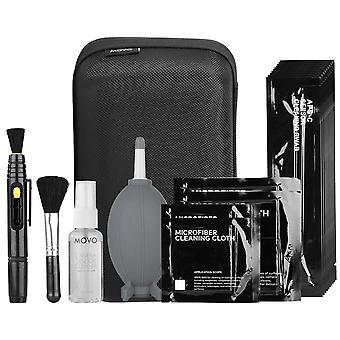 Movo deluxe Essentials dslr Kamera Reinigungsset mit 10 aps-c Tupfer, Sensor Reinigungsflüssigkeit, Rakete a