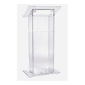 Floor Standing Acrylic Church Lectern Reception Desk