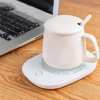 Mini Warmer Pad Warm Cup Mat Heating Device Office Coffee Tea