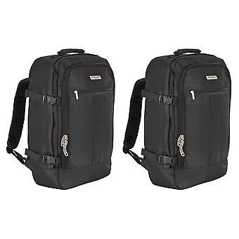 Sac de cabine à bagages à main Brunor 55x35x20cm x 2