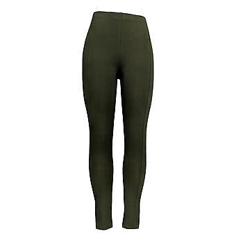 Frauen mit Control Leggings (XXS) Pull-On W / Side Panels Grün A307610