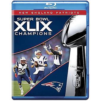 NFL Super Bowl Champions Xlix [BLU-RAY] USA import