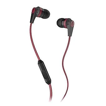 Skullcandy Ink'd 2.0 - In-Ear Earbuds with Microphone - Red / Black