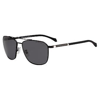 Hugo Boss 1103/F/S 807/M9 Black/Polarised Grey Sunglasses