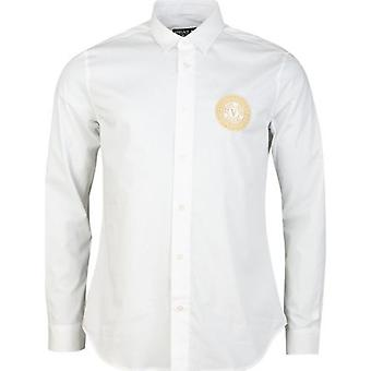 Versace Jeans Couture Embroidered Circular Logo Shirt