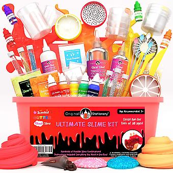 Original stationery ultimate slime kit – diy slime making kit for boys and girls – includes unic