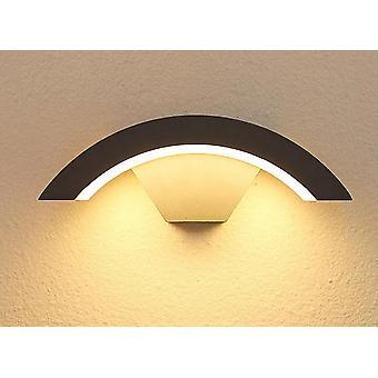 Moden Wodoodporny czujnik ruchu LED Lampa ścienna do krajobrazu, reflektora, balkonu,