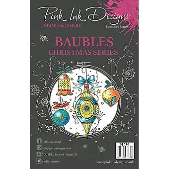 Pink Ink Designs Clear Stamp Baubles A5
