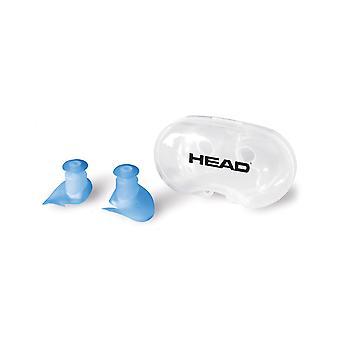 HEAD Silicone Flap Ear Plug - Blue