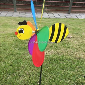 Colorful 3d Insect Large Animal Bee Ladybug Windmill