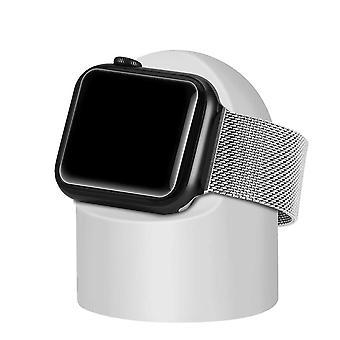 حامل لمنضدة Apple Watch وكمبيوتر شخصي الشحن المنزلي قفص الاتهام جولة سيليكون