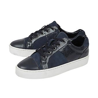 Lotus Stressless Navy Leather Sherlyn Casual Trainers (Taille 5)