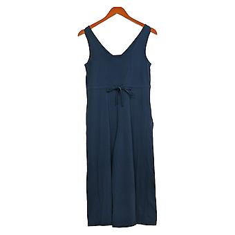 Anybody Petite Jumpsuits Sleveless with Tie Back Detail Blue A378003