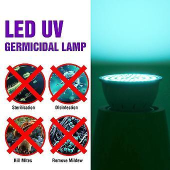 Lampada battericida Uv led, luce germicida, disinfezione uccide germi, ozono acaro
