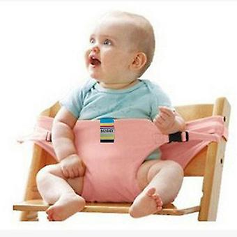 Portable Baby High Chair Booster Safety Seat Strap Harness Dining Seatbelt