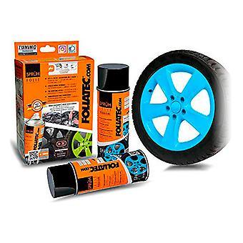 Flytande gummi för bilar Foliatec Blå 400 ml (2 st)