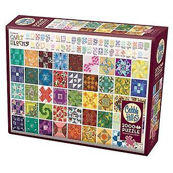 Cobble hill puzzle - quilt blocks - 2000 pc